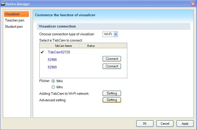 TabCam Wireless Visualizer Document Camera - 3M, 16X total zoom and