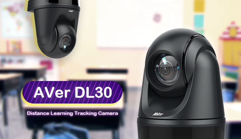 AVer DL30 Distance Learning Tracking Camera Intro Video